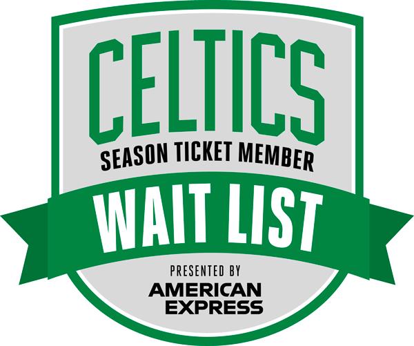 Boston Celtics Wait List presented by Amex Logo